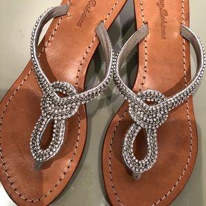 Tommy Bahama rhinestone  Sandals